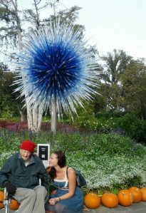 Gpa and blue chihuly