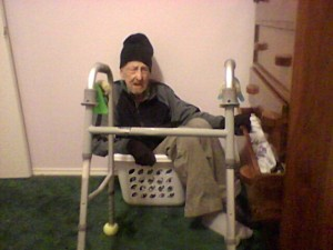 Gpa in a laundry basket