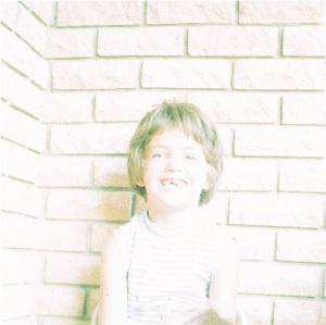 Laura aged 7